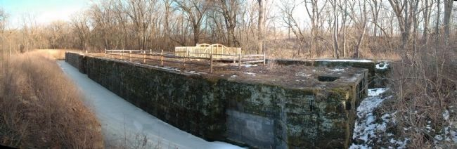 Lock 19 with Bridge image. Click for full size.