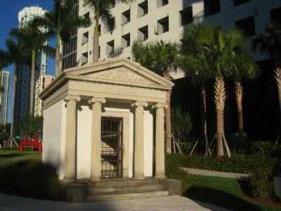 Brickell Mausoleum at Brickell Park image. Click for full size.