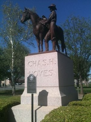 Charles H. Noyes Marker and Monument image. Click for full size.