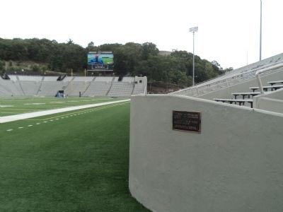Another Marker in Michie Stadium image. Click for full size.