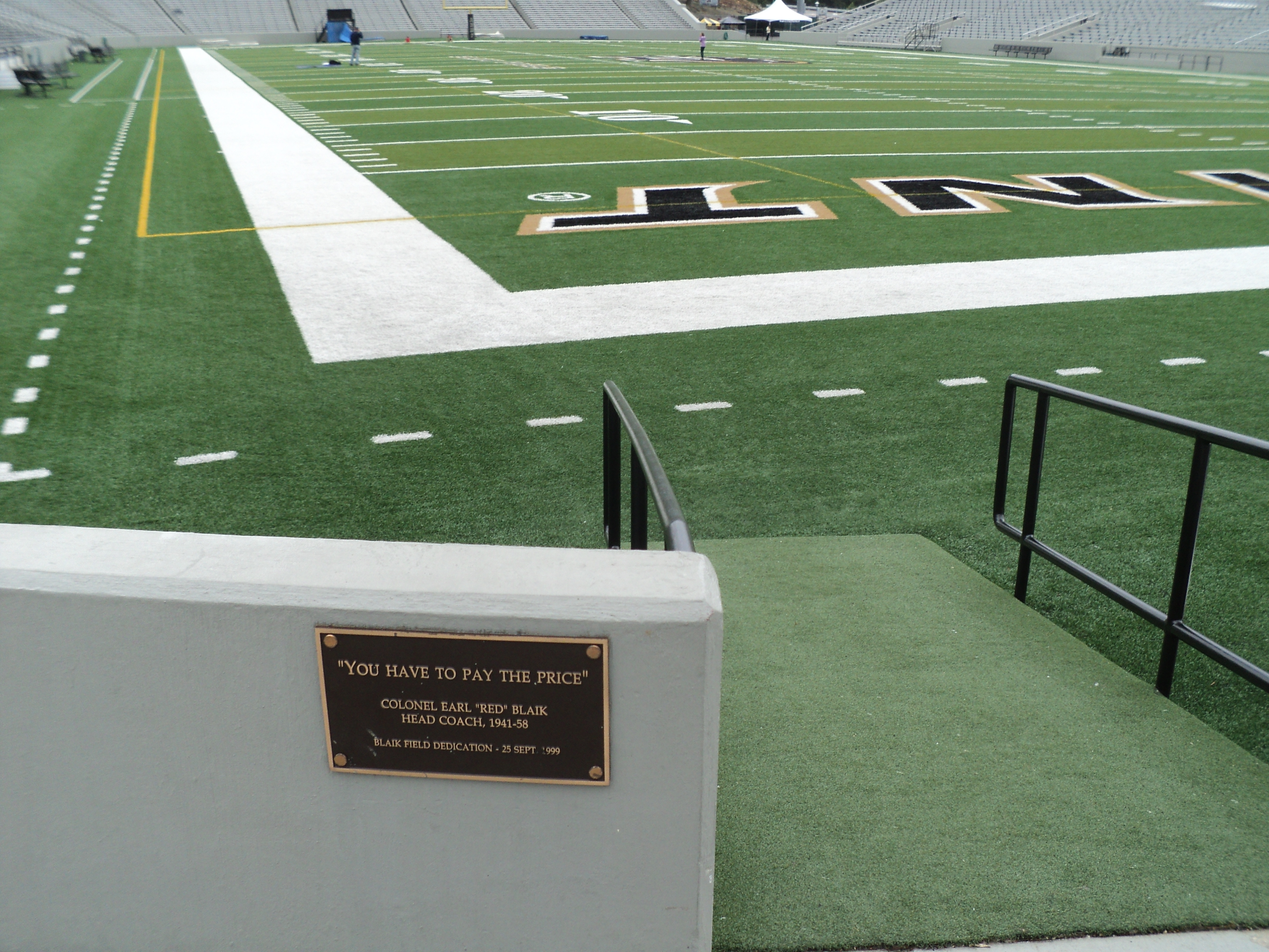 A Third Marker in Michie Stadium