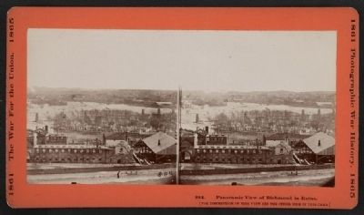 Panoramic view of Richmond in ruins image. Click for full size.