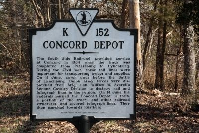 Concord Depot Marker image. Click for full size.
