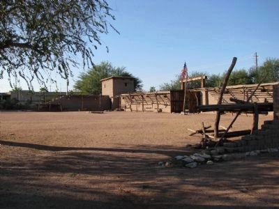Old Mormon Fort image. Click for full size.