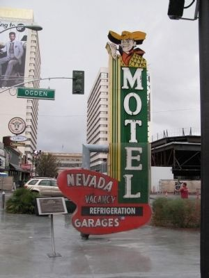 Nevada Motel Neon Sign image. Click for full size.