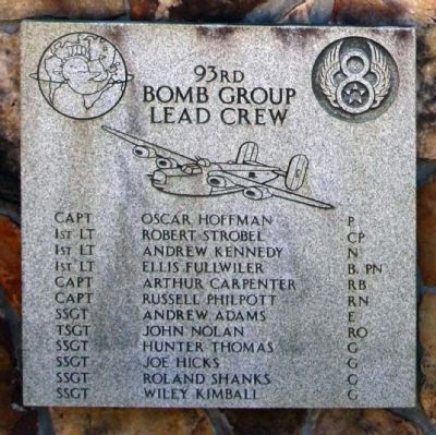 93rd Bombardment Group Lead Crew image. Click for full size.