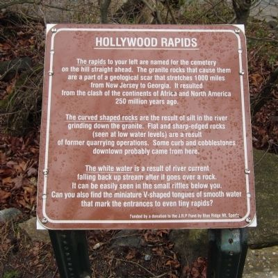 Hollywood Rapids Marker image. Click for full size.