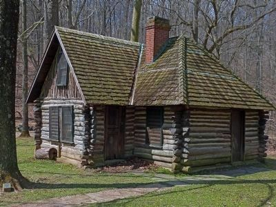 Joaquin MIller Cabin, in Rock Creek Park image. Click for full size.