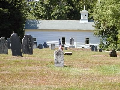 Church at Mendon's Old Cemetery image. Click for full size.