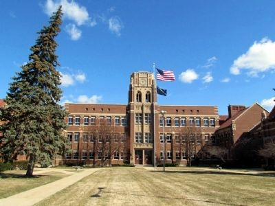Mishawaka High School image. Click for full size.