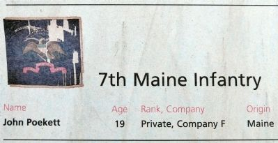 7th Maine Infantry image. Click for full size.
