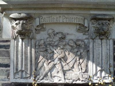 Battle of Princeton Marker image. Click for full size.