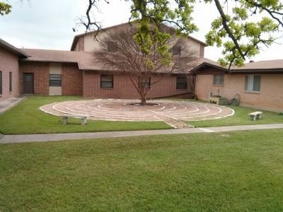 Labyrinth at Manchaca United Methodist Church image. Click for full size.
