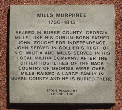 Mills Murphree Marker image. Click for full size.