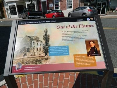 Out of the Flames Marker image. Click for full size.