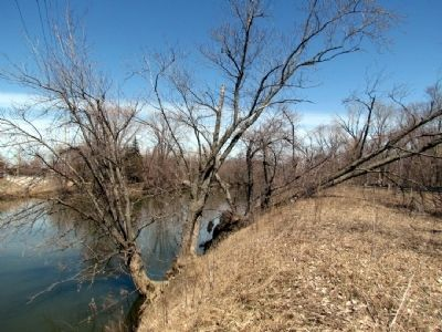 Kankakee River east of US Route 231 image. Click for full size.