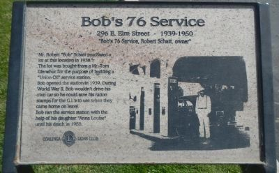 Bob's 76 Service Marker image. Click for full size.