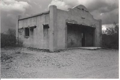 Historic Gleeson Jail image. Click for full size.