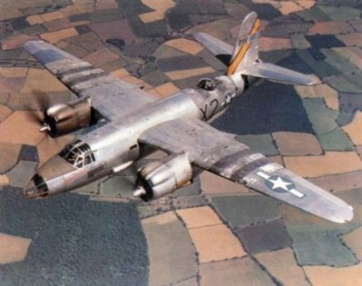 U.S. Army Air Force Martin B-26 Marauder image. Click for full size.