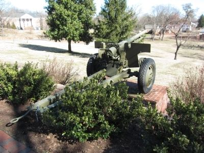75mm Field Gun (M1897) on the Grounds of the Academy image. Click for full size.