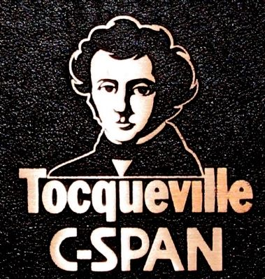 Tocqueville C-Span image. Click for full size.