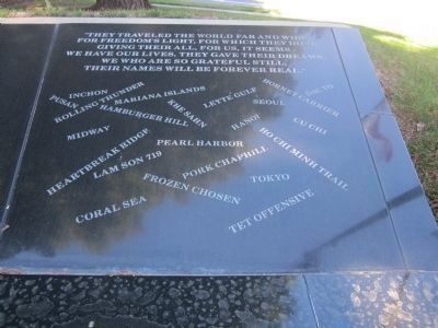 Sutter County Veterans Memorial image. Click for full size.