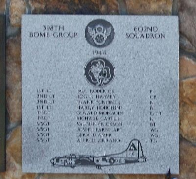 398th Bombardment Group 602nd Squadron image. Click for full size.