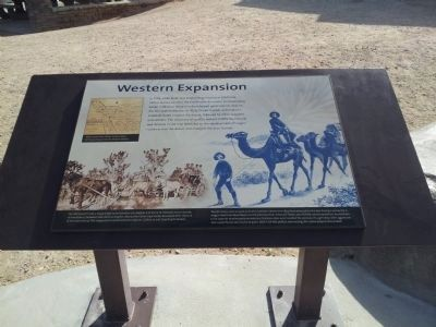 Valley Wells Western Expansion sign image. Click for full size.