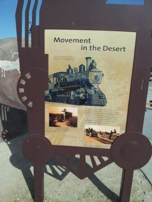 Valley Wells Movement in the Desert image. Click for full size.