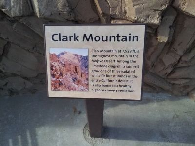 Clark Mountian Marker image. Click for full size.