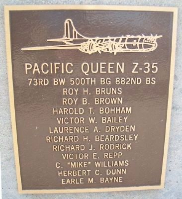 Pacific Queen Z-35 Marker image. Click for full size.