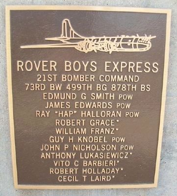 Rover Boys Express Marker image. Click for full size.