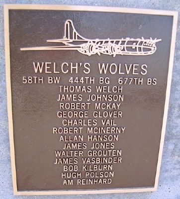 Welch's Wolves Marker image. Click for full size.