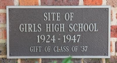 Roosevelt High School Marker image. Click for full size.