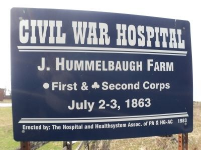 J. Hummelbaugh Farm Marker image. Click for full size.