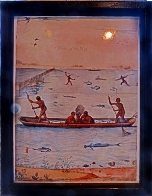 Indians Fishing image. Click for full size.