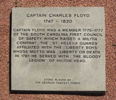 Captain Charles Floyd Marker image. Click for full size.