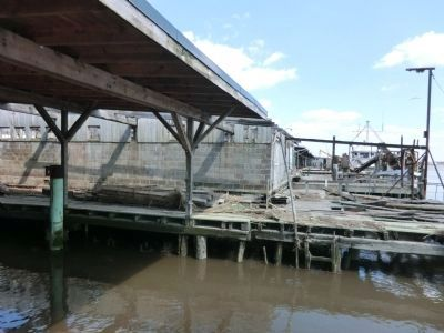 Bivalve Oyster Shipping Sheds Marker image. Click for full size.