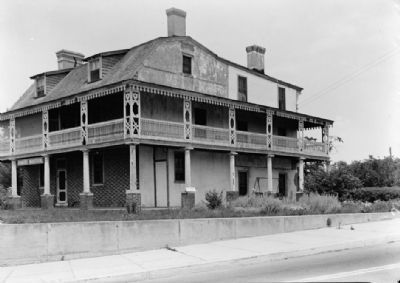 Somers Mansion (1936) - Prior to Restoration image. Click for full size.