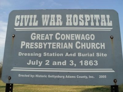 Great Conewago Presbyterian Church Marker image. Click for full size.