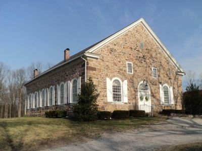 Great Conewago Presbyterian Church image. Click for full size.