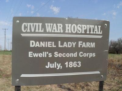 Daniel Lady Farm Marker image. Click for full size.