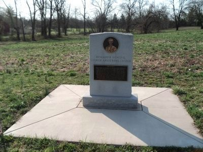 Brigadier General George Armstrong Custer Marker image. Click for full size.