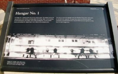 Hangar No. 1 Marker image. Click for full size.