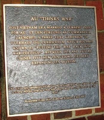 "AU ""Thinks War"" Marker image. Click for full size."