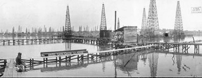 Goose Creek Oil Field image. Click for full size.