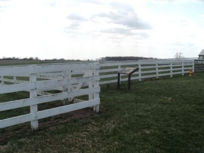 Marker at the Eisenhower Farm image. Click for full size.