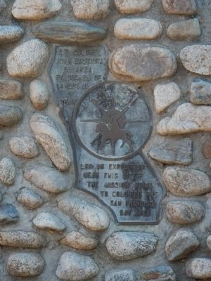 De Anza Expedition 1775-1776 Marker image. Click for full size.