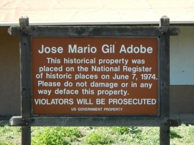 Jose Mario Gil Adobe Marker image. Click for full size.