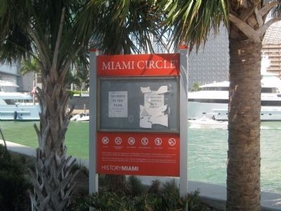 The Miami Circle image. Click for full size.